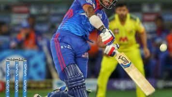 Shikhar Dhawan of Delhi Capitals vs CSK