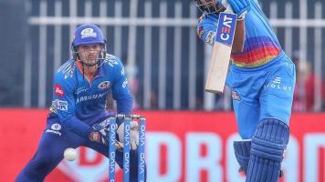 Shreyas Iyer against MI, IPL 2021