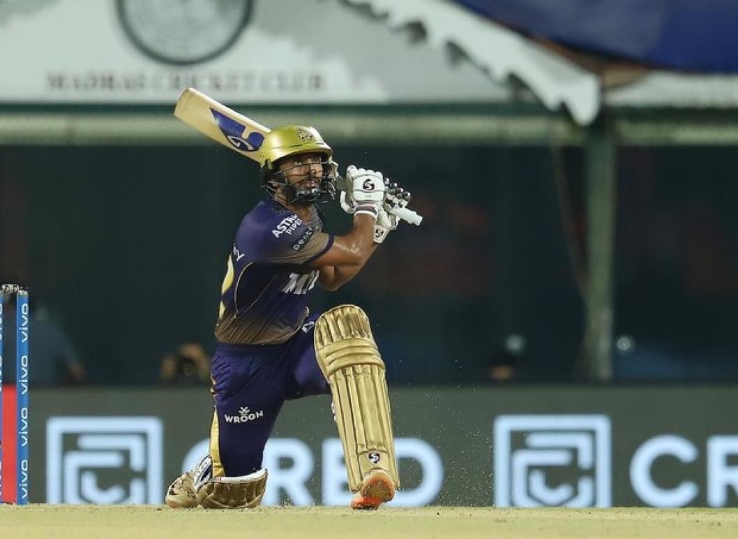 Rahul Tripathi six takes KKR into IPL 2021 Final